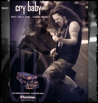 cry baby dimebag
